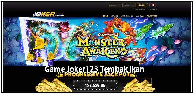 Game Joker123 Tembak Ikan